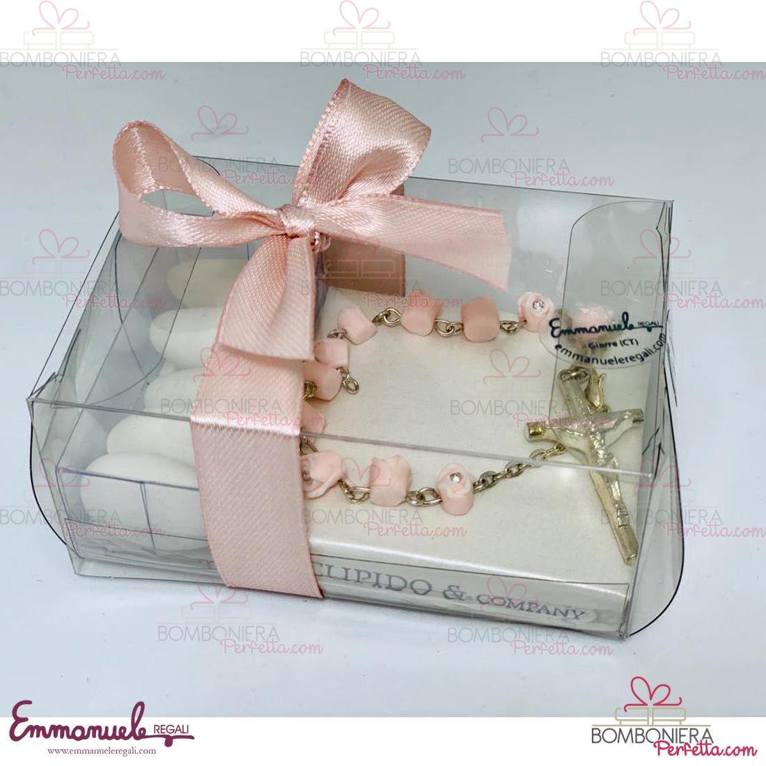 coroncina_rosario_rosa_con_bocciolo_e_brillantino_emmanueleregali_bombonieraperfetta